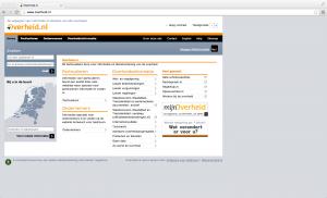 overheid.nl in 2013