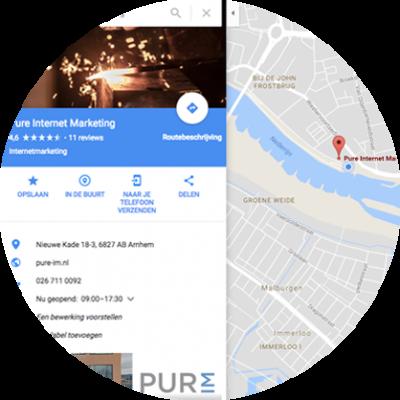 google maps mijn bedrijf vermelding