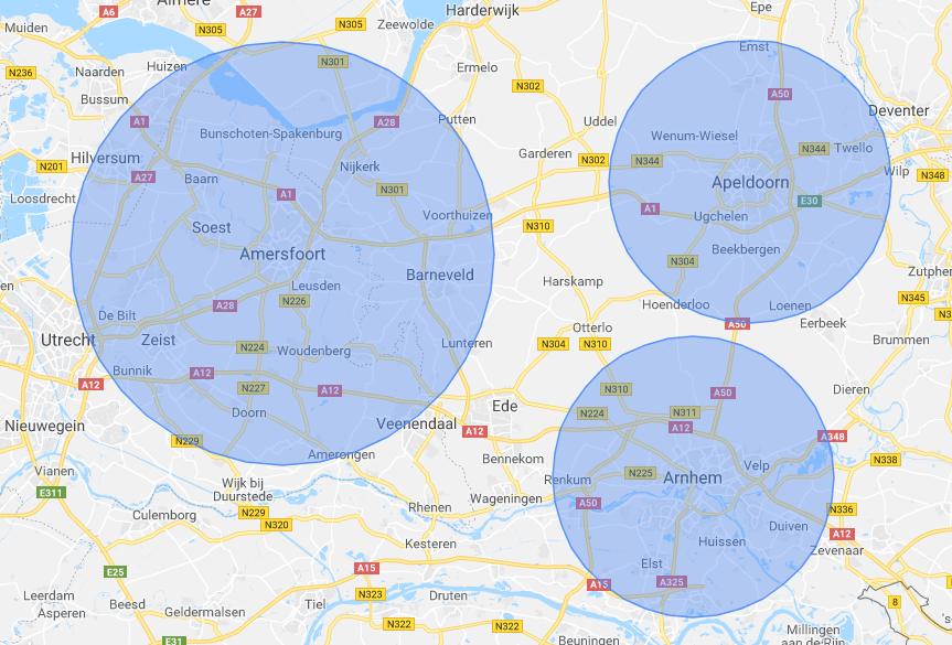 Lokale geo targeting