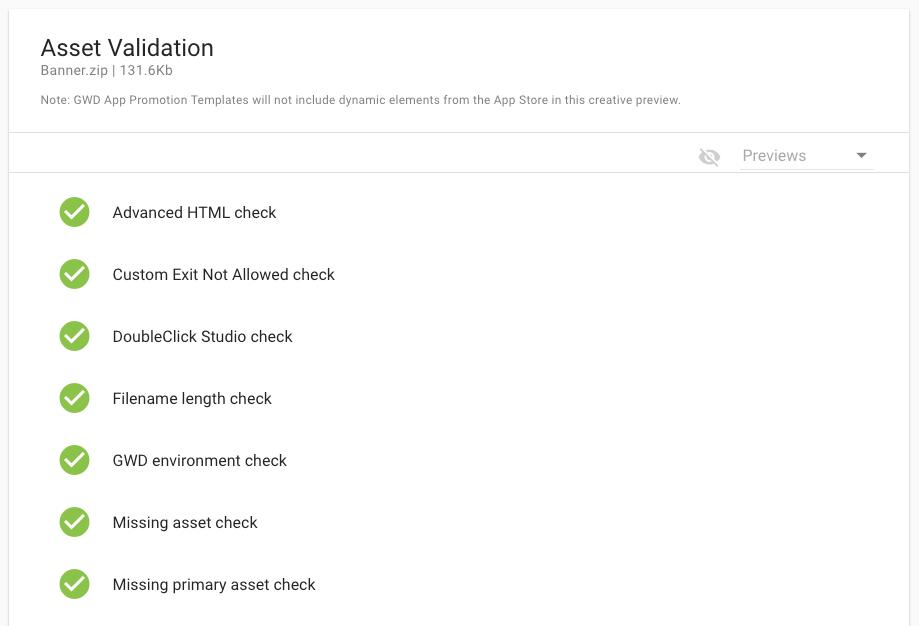 Google HTML5 validator