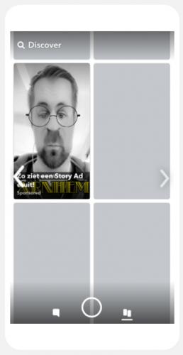 voorbeeld story ad