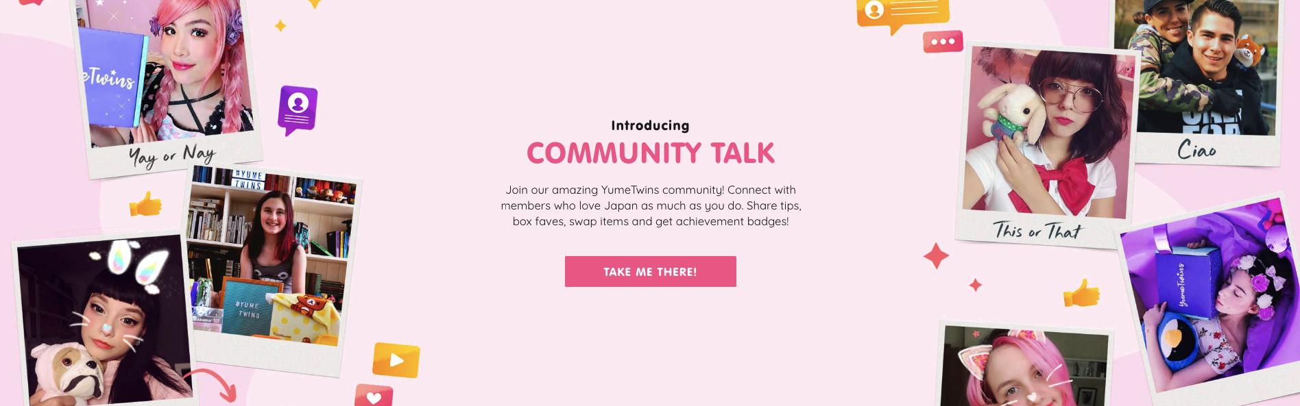 yumetwins community talk