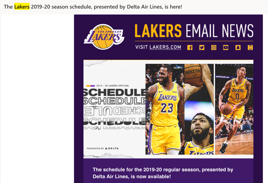 La-lakers-email
