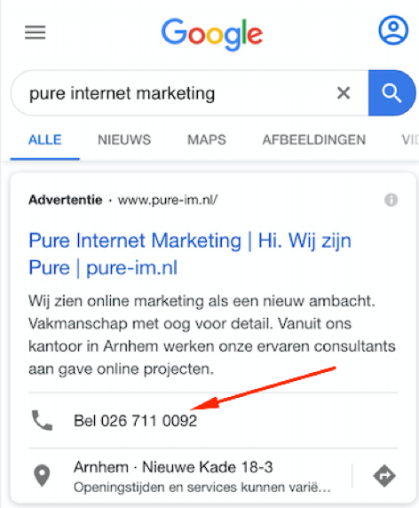 call-extention-google-ads