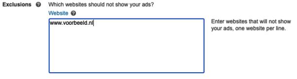 Zoekpartners uitsluiten - Microsoft Advertising