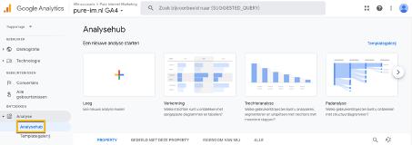 Google Analytics 4 Analysehub