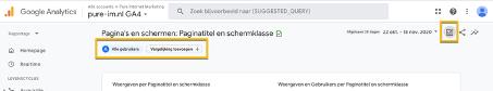 Rapport aanpassen Google Analytics 4