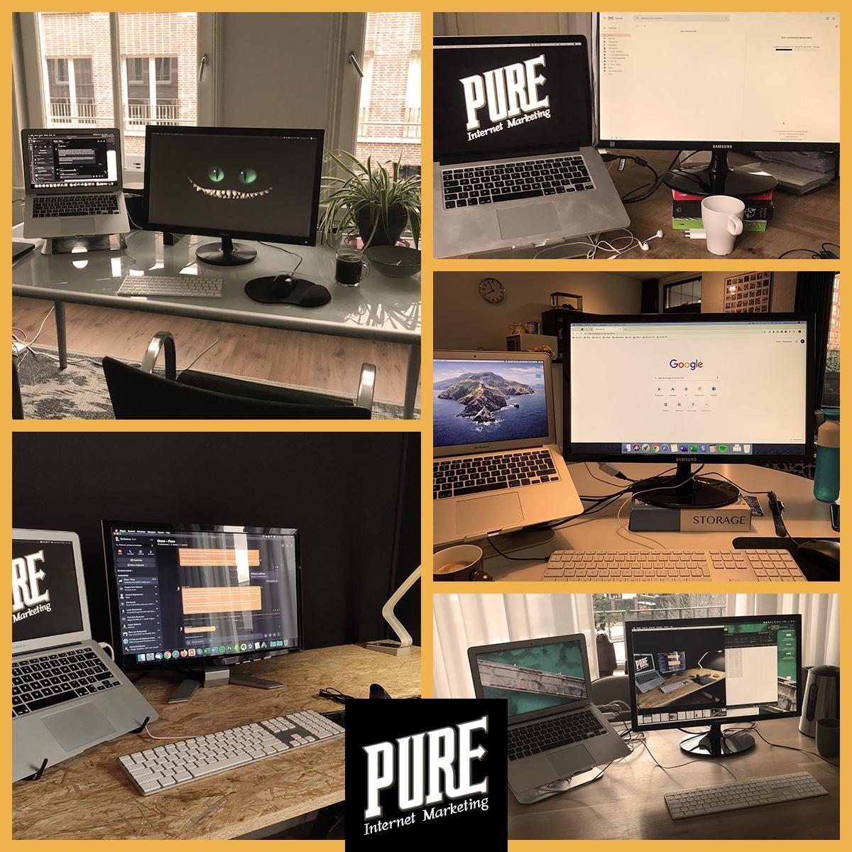 Thuiswerken bij Pure