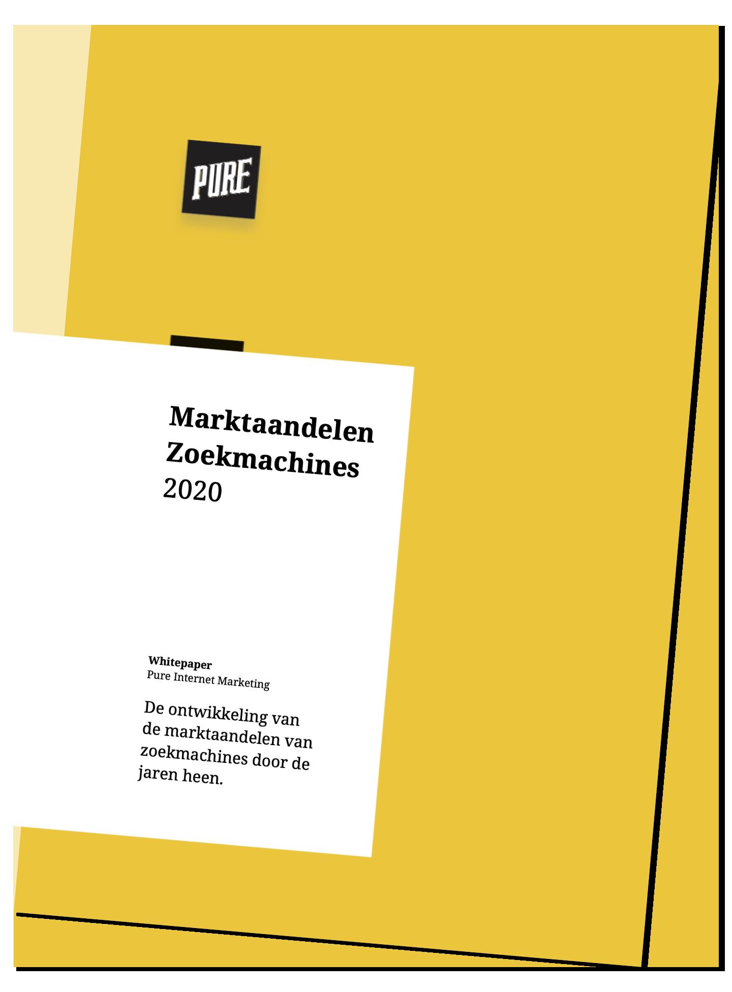 Cover Marktaandelen Zoekmachines 2020