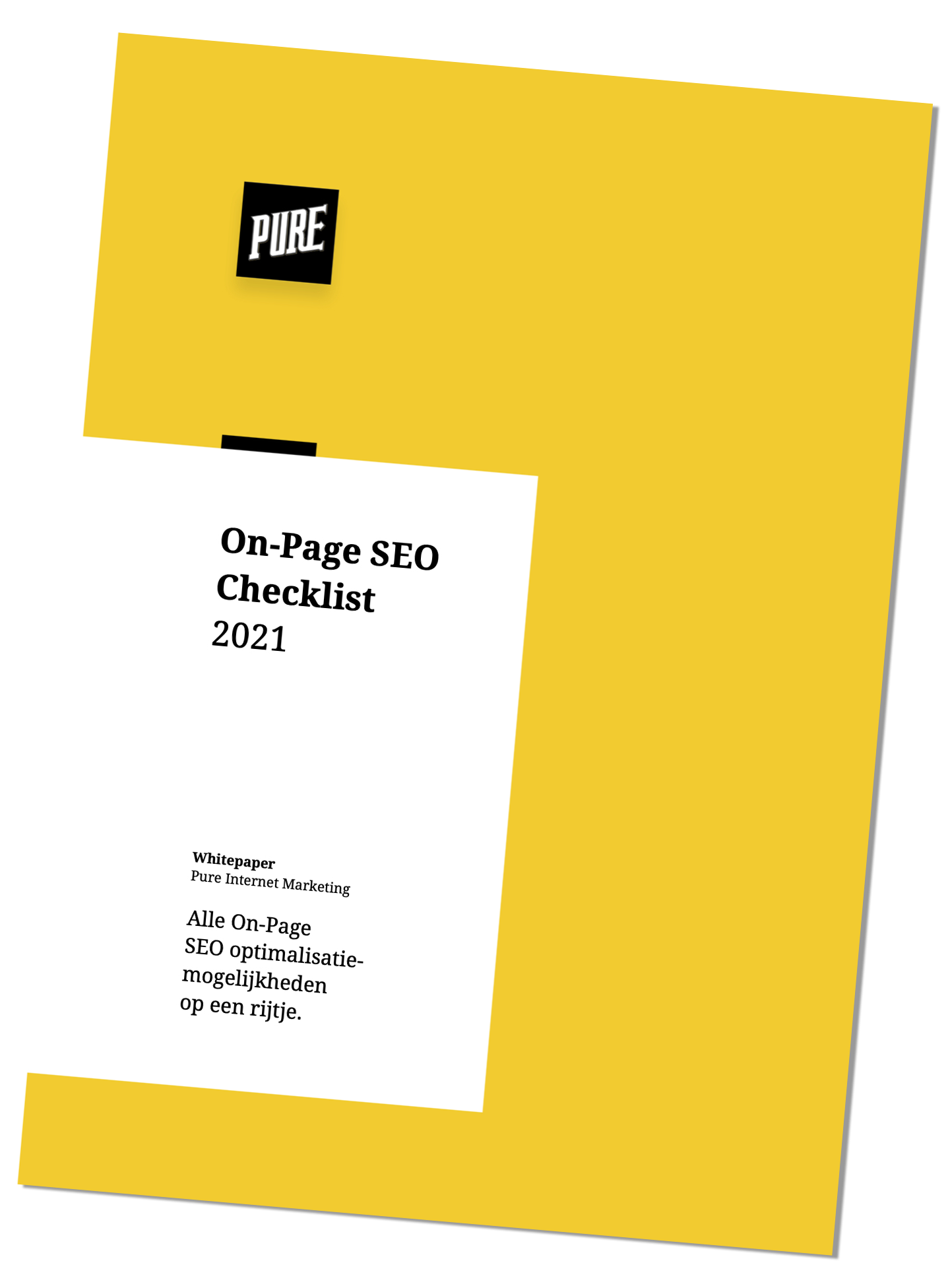 Cover On Page SEO Checklist 2021