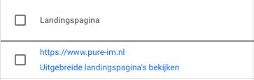 Ads account activeren - landingspagina's