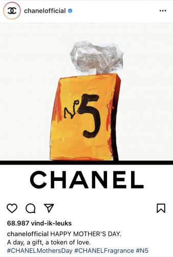 Moederdag Chanel