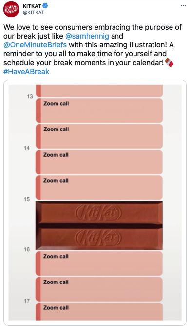 Kitkat voorbeeld