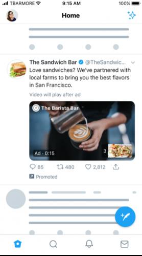 Twitter amplify advertentie ads voorbeeld
