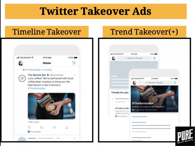 Twitter Takeover Ads voorbeeld
